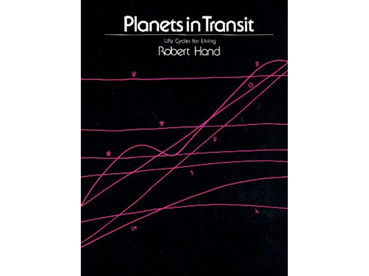 6 astrology books Planets in Transit